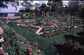 view [Windy Hill]: view of potager (kitchen garden) from house. digital asset: [Windy Hill]: view of potager (kitchen garden) from house.: 1998 Apr.