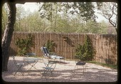 view [Les Ormes]: outdoor seating area. digital asset: [Les Ormes] [slide (photograph)]: outdoor seating area.