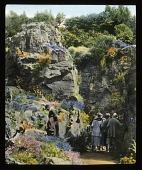 view [Brockhurst]: the ravine in the rock garden. digital asset: [Brockhurst]: the ravine in the rock garden.: [between 1925 and 1935]