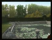 view [Penshurst Place]: lily pond in the gardens. digital asset: [Penshurst Place]: lily pond in the gardens.: [between 1925 and 1935]