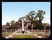 view [Seagry House]: walled garden. digital asset: [Seagry House]: walled garden.: [between 1925 and 1935]