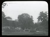 view [Royal Botanic Gardens, Kew]: Cambridge Cottage and its grounds. digital asset: [Royal Botanic Gardens, Kew]: Cambridge Cottage and its grounds.: [between 1920 and 1930]