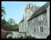 view [Miscellaneous Sites in England, Series 1]: Ightham Mote, a medieval moated manor house near Sevenoaks in Kent. digital asset: [Miscellaneous Sites in England, Series 1]: Ightham Mote, a medieval moated manor house near Sevenoaks in Kent.: [between 1925 and 1935]