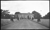 view [Sutton Place]: looking toward the south front of the house. digital asset: [Sutton Place] [negative]: looking toward the south front of the house.