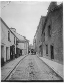 view [Miscellaneous Sites in Bowness-on-Windermere, Cumbria, England]: Ash Street. digital asset: [Miscellaneous Sites in Bowness-on-Windermere, Cumbria, England] [glass negative]: Ash Street.