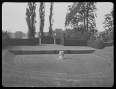 view [Esher Place]: the garden theater, designed by Ernest Law. digital asset: [Esher Place] [lantern slide]: the garden theater, designed by Ernest Law.
