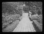 view [Hidcote Manor Garden]: the Fuchsia Garden. digital asset: [Hidcote Manor Garden] [lantern slide]: the Fuchsia Garden.