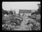 view [Bannits]: garden borders. digital asset: [Bannits] [lantern slide]: garden borders.