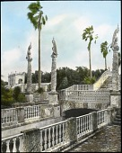 view [Vizcaya Museum and Gardens]: a view of the Marine Garden. digital asset: [Vizcaya Museum and Gardens] [lantern slide]: a view of the Marine Garden.