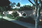 view [Pan's Garden]: entrance gate (from street). digital asset: [Pan's Garden]: entrance gate (from street).: 1999 Jan.
