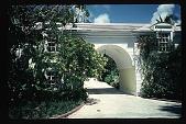 view [Untitled Garden]: Entry gate. digital asset: [Untitled Garden]: Entry gate.: 1996, May. 9.