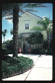 view [Untitled Garden]: Front door. digital asset: [Untitled Garden]: Front door.: 1996, May. 9.