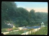 view [Bagatelle]: sunken garden. digital asset: [Bagatelle]: sunken garden.: 1920.