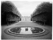 """view [Versailles]: the """"French"""" pavilion on the grounds of the Petit Trianon. digital asset: [Versailles] [glass negative]: the """"French"""" pavilion on the grounds of the Petit Trianon."""