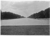 view [Versailles]: the Grand Canal. digital asset: [Versailles] [glass negative]: the Grand Canal.