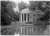 view [Versailles]: the Temple of Love at the Petit Trianon. digital asset: [Versailles] [glass negative]: the Temple of Love at the Petit Trianon.