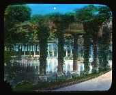 view [Parc Monceau]: the classical colonnade in the park. digital asset: [Parc Monceau]: the classical colonnade in the park.: [between 1900 and 1930]