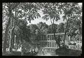 view [Parc Monceau]: the classical colonnade depicted in an engraving probably dating to about 1800. digital asset: [Parc Monceau]: the classical colonnade depicted in an engraving probably dating to about 1800.: [between 1900 and 1930]