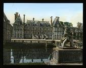 view [Château de Courances]: the château. digital asset: [Château de Courances]: the château.: 1936 Jul.