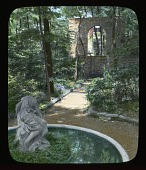 view Unidentified Garden in Unknown Location digital asset: Unidentified Garden in Unknown Location: [between 1914 and 1949?]