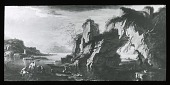 view [Unidentified landscape]: unidentified painting. digital asset: [Unidentified landscape]: unidentified painting.: [between 1914 and 1949?]