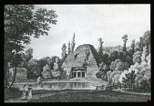 view [Château de Mauperthuis]: the pyramid. digital asset: [Château de Mauperthuis]: the pyramid.: [between 1780 and 1800]