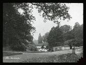 view [Unidentified landscape]: waterfall. digital asset: [Unidentified landscape]: waterfall.: [between 1914 and 1949?]