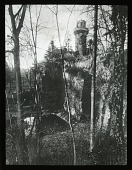 view Ludwigsburg Palace Gardens: the Rapunzel Tower. digital asset: Ludwigsburg Palace Gardens: the Rapunzel Tower.: [between 1914 and 1949]