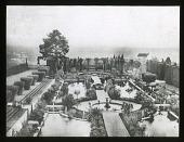 view [Villa Gamberaia]: the water gardens. digital asset: [Villa Gamberaia] [lantern slide]: the water gardens.