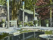 view [Naumkeag]: the Afternoon Garden, the first garden area designed by Fletcher Steele in 1928. digital asset: [Naumkeag]: the Afternoon Garden, the first garden area designed by Fletcher Steele in 1928.: circa 1930s