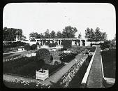 view [Weld]: formal garden with pergola digital asset: [Weld] [slide]