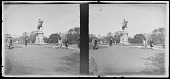 view [Boston Public Garden] (MA): Statue of George Washington by Thomas Bell. digital asset: [Boston Public Garden] (MA): Statue of George Washington by Thomas Bell.: [1930?]