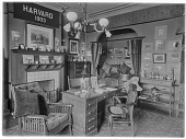 view Harvard University: Dormitory Room. digital asset: Harvard University [photonegative]: Dormitory Room.