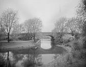 view [The Riverway]: a multi-arched bridge. digital asset: [The Riverway] [glass negative]: a multi-arched bridge.