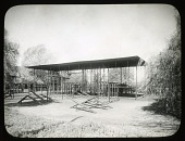 """view [Charlesbank Playground]: playground equipment in the """"female"""" section of the park. digital asset: [Charlesbank Playground] [glass negative and lantern slide]: playground equipment in the """"female"""" section of the park."""