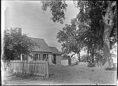 view [Unidentified Garden in Massachusetts, No. 1]: cottages digital asset: [Unidentified Garden in Massachusetts, No. 1]: cottages.: [between 1920 and 1939]