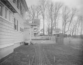 view [Ogilby Garden]: side of house and adjacent properties. digital asset: [Ogilby Garden] [glass negative]: side of house and adjacent properties.