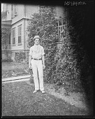 view [White Garden]: a young man, identified on the negative sleeve as Wesley [sp?] Jackson. digital asset: [White Garden] [glass negative]: a young man, identified on the negative sleeve as Wesley [sp?] Jackson.