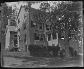 view [White Garden]: back of house. digital asset: [White Garden] [glass negative]: back of house.