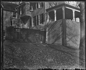 view [White Garden]: back of house before addition. digital asset: [White Garden] [glass negative]: back of house before addition.