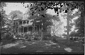 view [Tanglewood]: view of the house. digital asset: [Tanglewood] [glass negative]: view of the house.