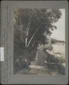 view Hauterive: Seaside garden. Annuals along seawalk digital asset: Hauterive [photoprint]