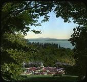 view [Keewaydin]: garden vista. digital asset: [Keewaydin]: garden vista.: [1940?]