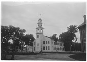 view [Miscellaneous Sites in Kennebunkport, Maine]: First Parish Unitarian Universalist Church, built in 1773. digital asset: [Miscellaneous Sites in Kennebunkport, Maine] [glass negative]: First Parish Unitarian Universalist Church, built in 1773.