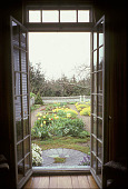 view [Garland Farm]: main garden from doorway. digital asset: [Garland Farm]: main garden from doorway.: 2003.
