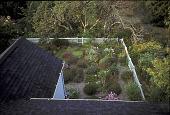 view [Garland Farm]: rooftop view of west main garden. digital asset: [Garland Farm]: rooftop view of west main garden.: 2003.