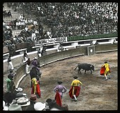 view Bullfight: view of a bullfight. digital asset: Bullfight: view of a bullfight.: 1937 Jan.
