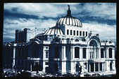 view [Miscellaneous Sites in Mexico City, Mexico]: the Palacio de Bellas Artes. digital asset: [Miscellaneous Sites in Mexico City, Mexico]: the Palacio de Bellas Artes.: 1937 Jan.