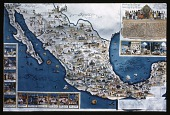 view Map of Mexico: a pictorial map of Mexico created by Miguel Gomez Medina and published around 1931 by the Fischgrund Publishing Company in Mexico City. digital asset: Map of Mexico: a pictorial map of Mexico created by Miguel Gomez Medina and published around 1931 by the Fischgrund Publishing Company in Mexico City.: 1937 Jan.