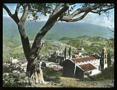 view [Miscellaneous Sites in Taxco, Mexico]: a view of Taxco, with the Church of Santa Prisca in the center of the image. digital asset: [Miscellaneous Sites in Taxco, Mexico]: a view of Taxco, with the Church of Santa Prisca in the center of the image.: 1937 Jan.